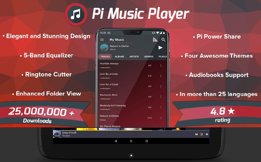 Aplikasi pemutar musik offline
