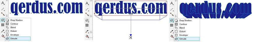 toolbox coreldraw extrude