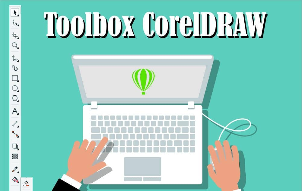 Toolbox CorelDRAW Lengkap dengan Penjelasan dan Contoh