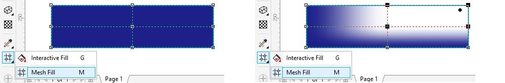 toolbox coreldraw mesh fill