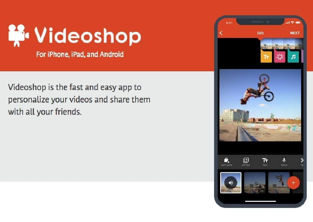 Aplikasi Edit Video VideoShop