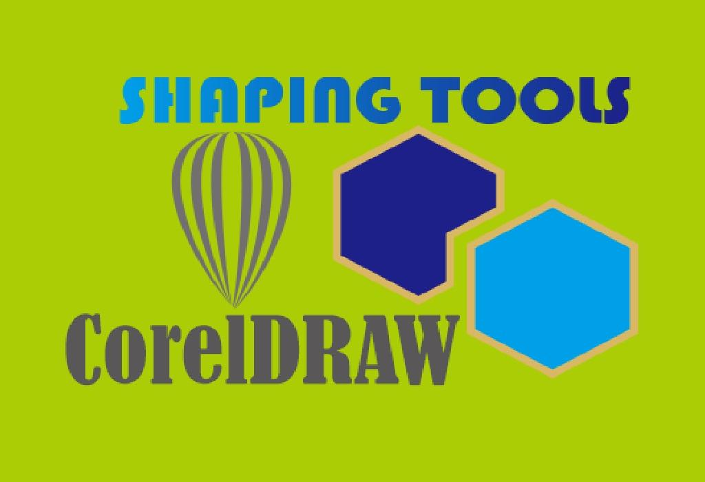 Membuat Objek Dengan Shaping Tools di CorelDRAW