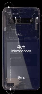 Kamera LG V60