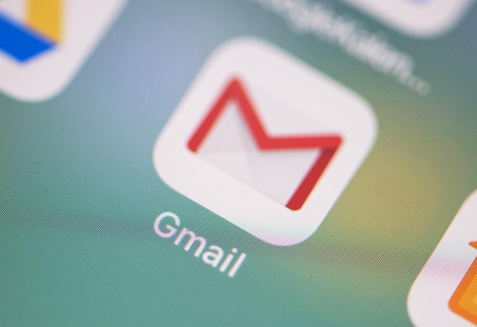 update gmail di iphone