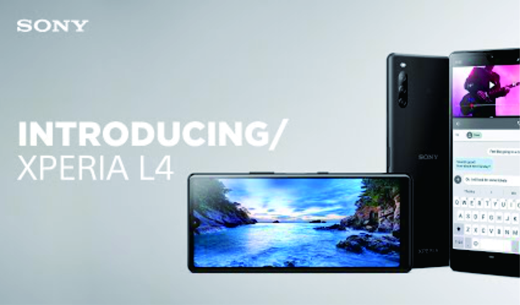 Sony Xperia L4 Datang dengan Layar 21:9