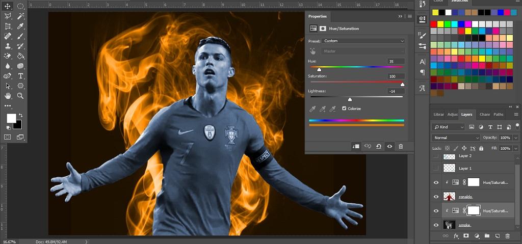 edit warna gambar dengan photoshop