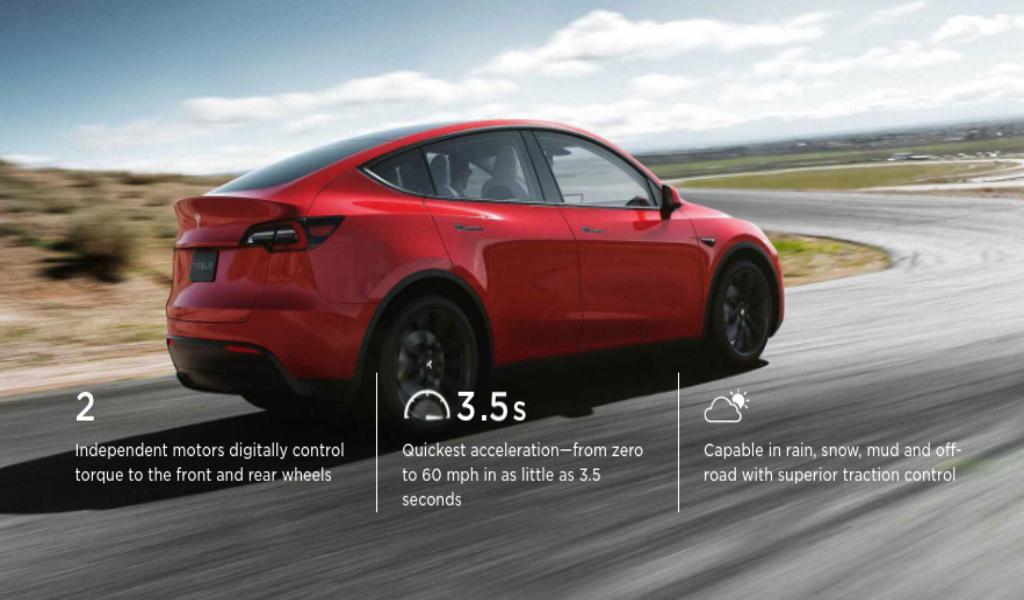 Crossover EV Tesla Model Y Mulai didistribusikan