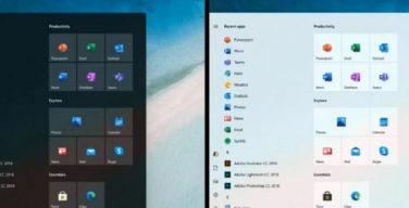 Windows 10 dengan Start Menu Baru dari Microsoft