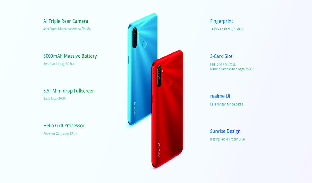 Realme C3 smartphone gaming murah 1 juta