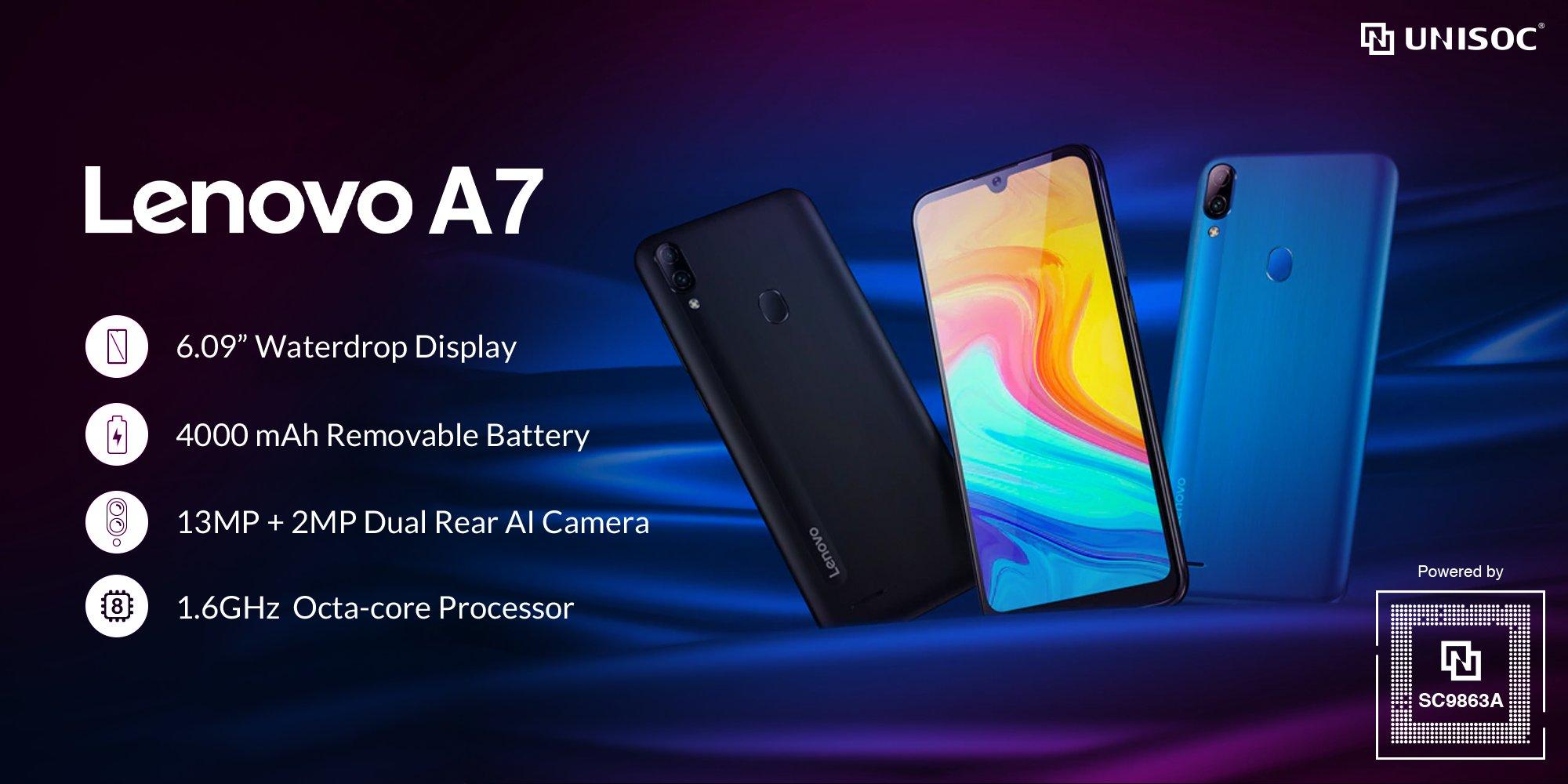 Lenovo A7 entry-level