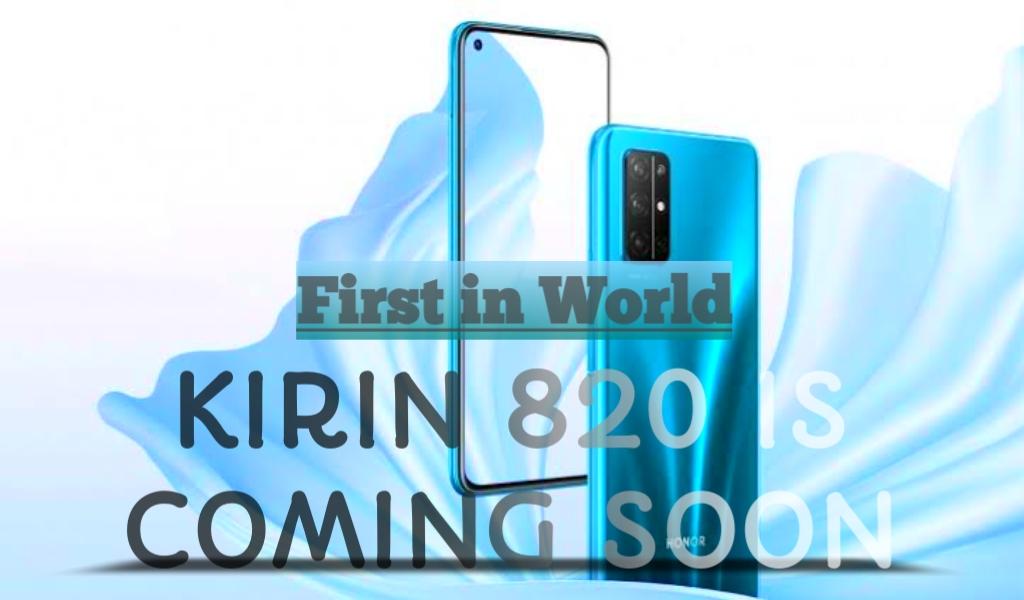 Honor 30s Hadirkan Chipset Kirin 820 Pertama di Dunia