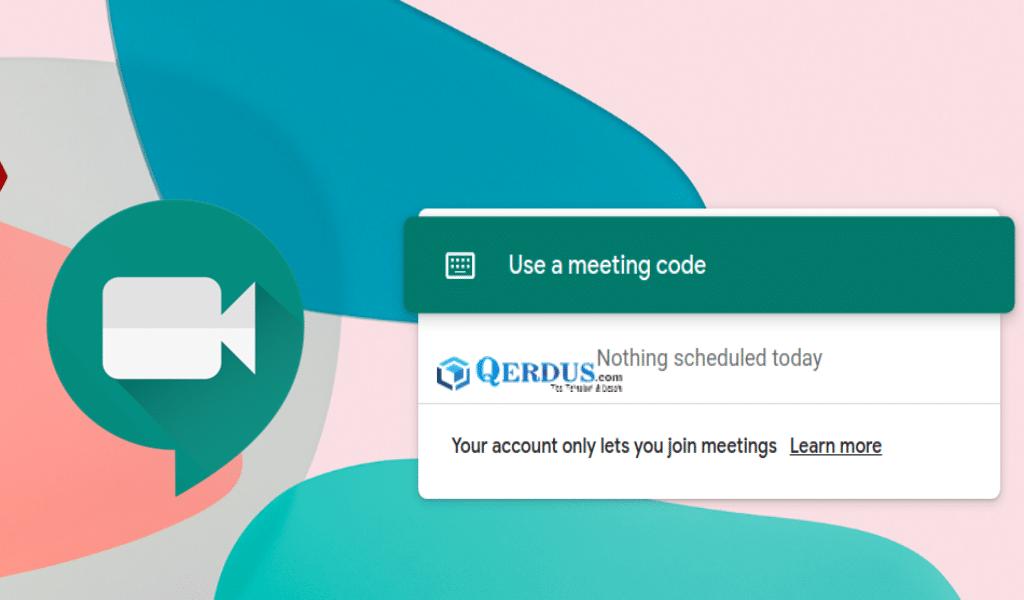 Google Meet sekarang gratis