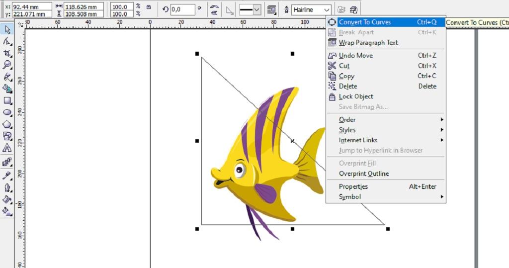 Membuat Desain Logo Unik Toko Ikan Hias Dengan Coreldraw Qerdus