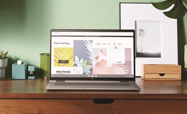 Chromebook x360 14c Tawarkan Fitur Fingerprint Reader