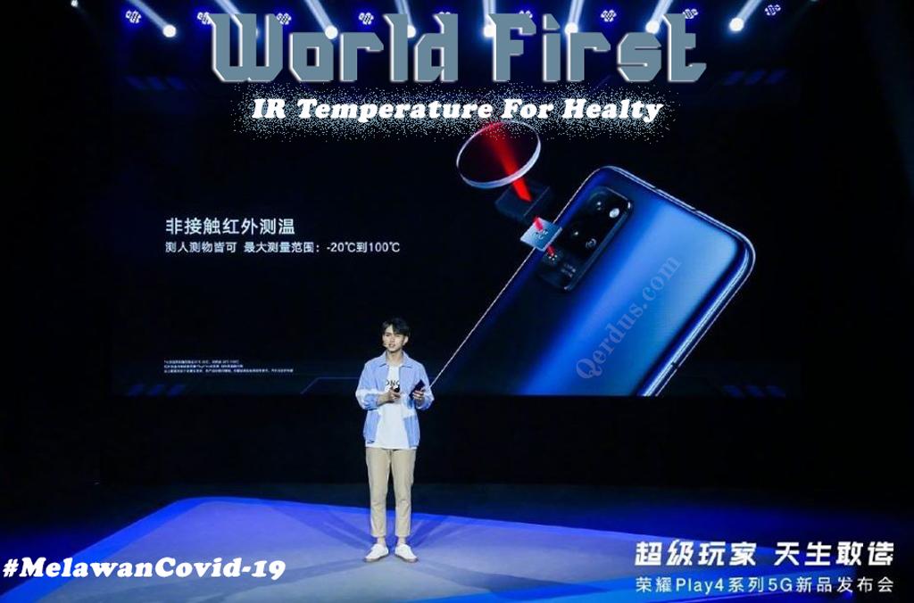 Huawei hadirkan fitur termometer di Honor Play 4 Prro