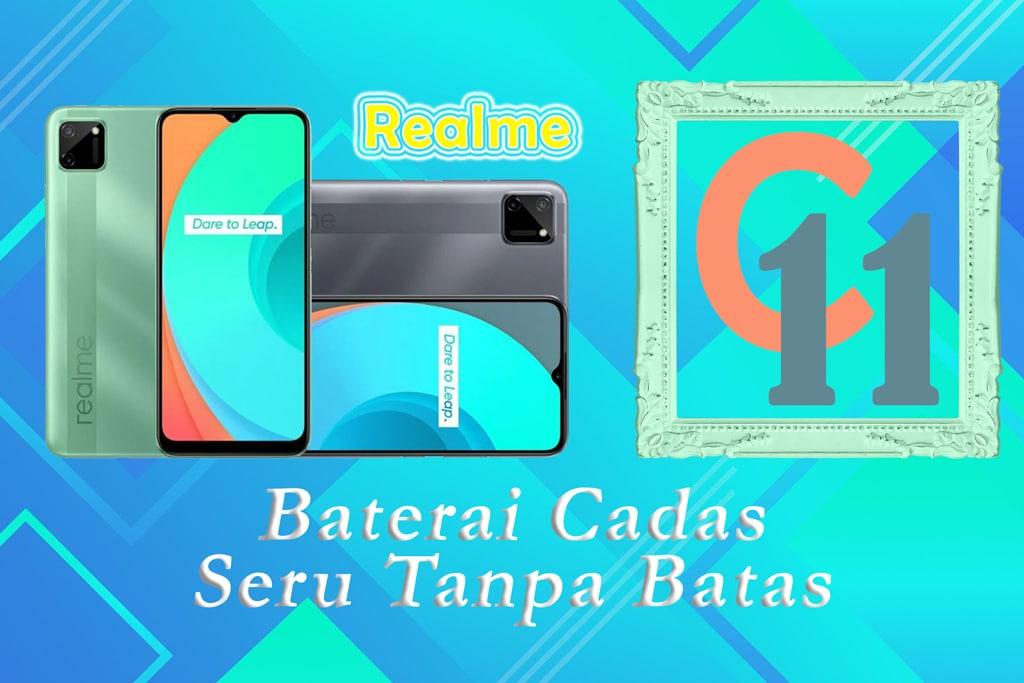 Realme C11 Siap Bersainh di Pasar Entry-Level