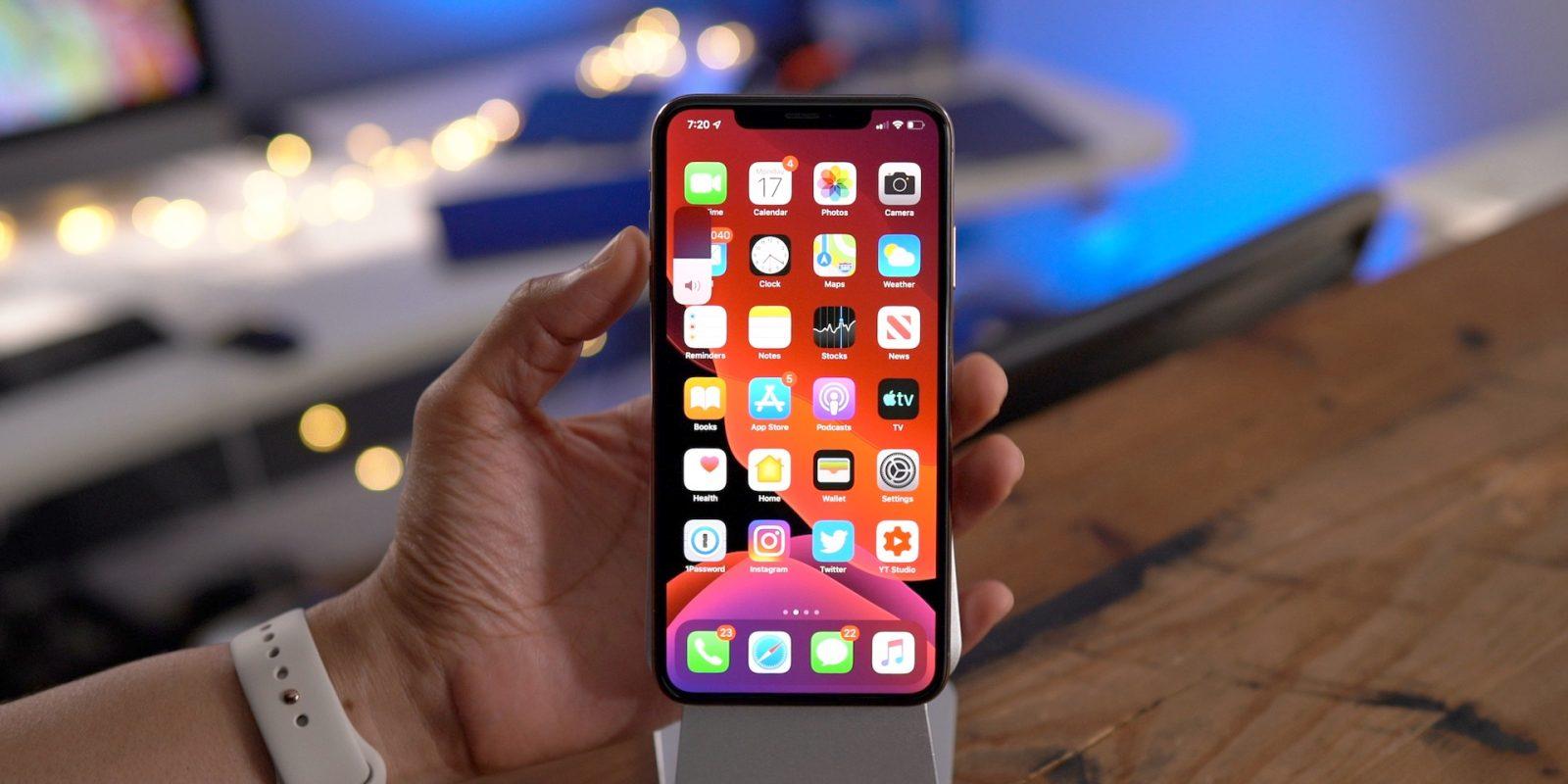 81% iPhone Menjalankan iOS 13