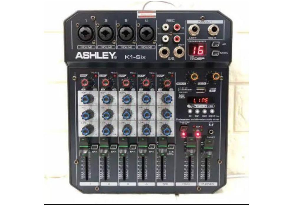 peralatan podcast : mixer