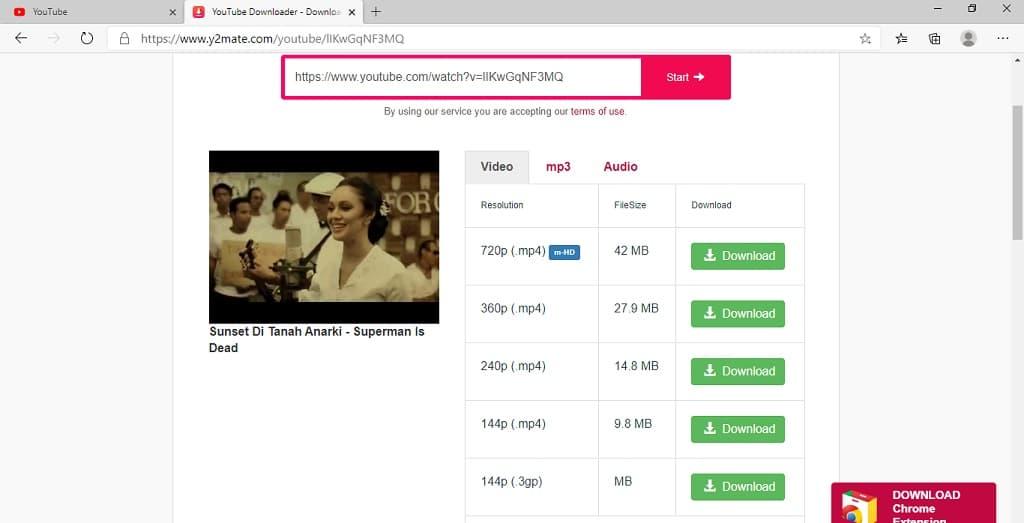 download video youtube dengan cara copy paste url