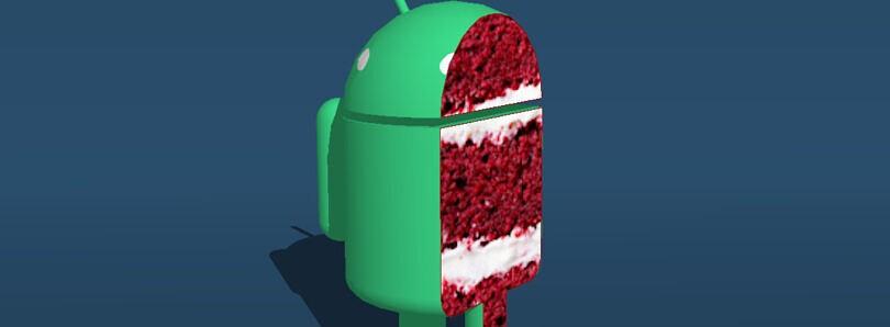 nama dessert untuk android 11 red velvet cake