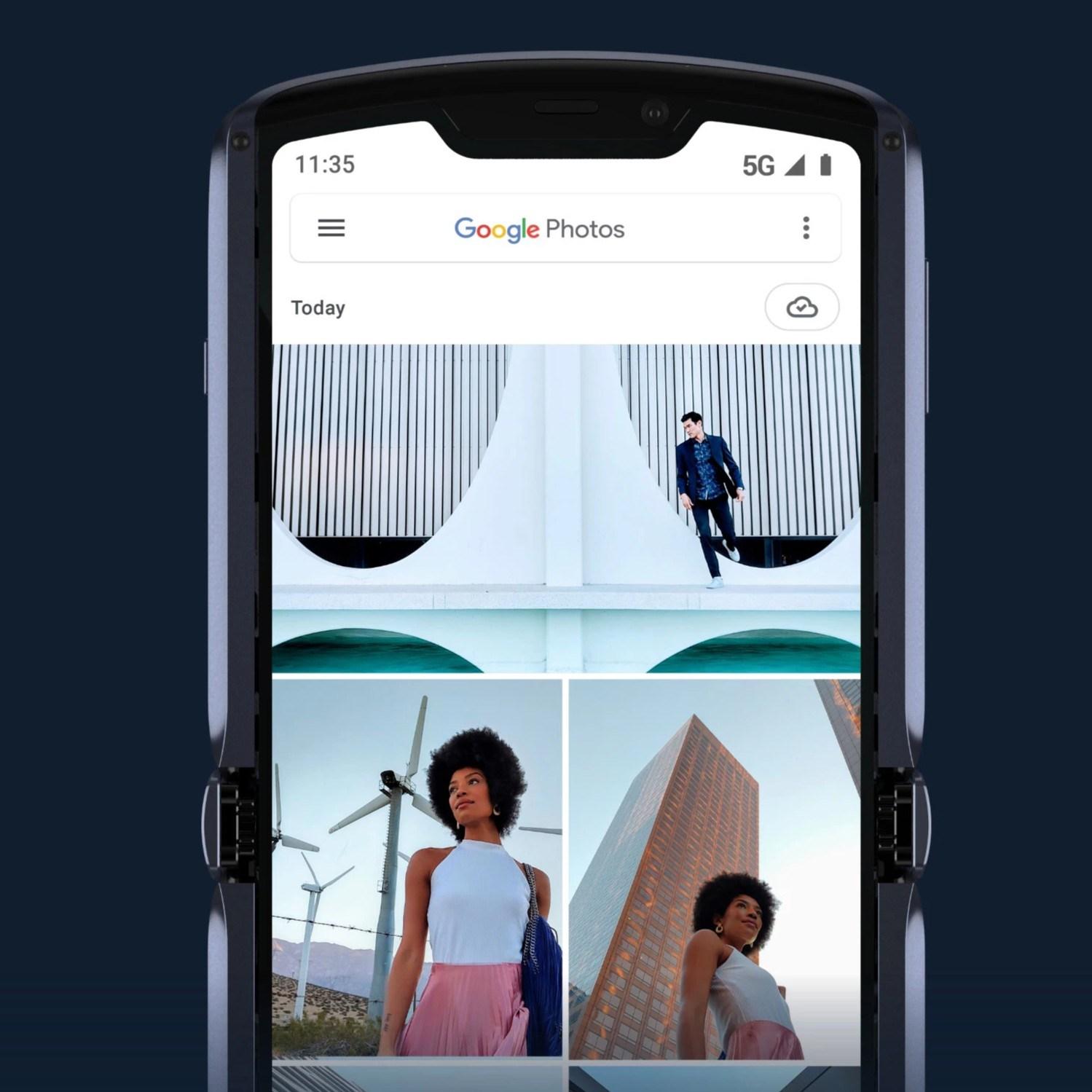 Motorola Razr dengan 5G