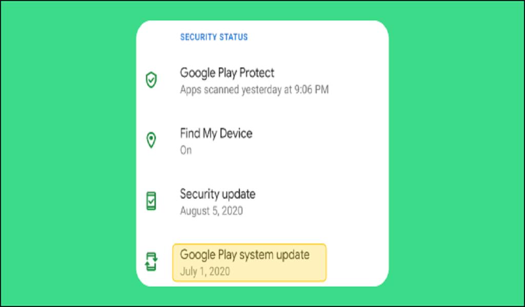 pembaruan sistem google play