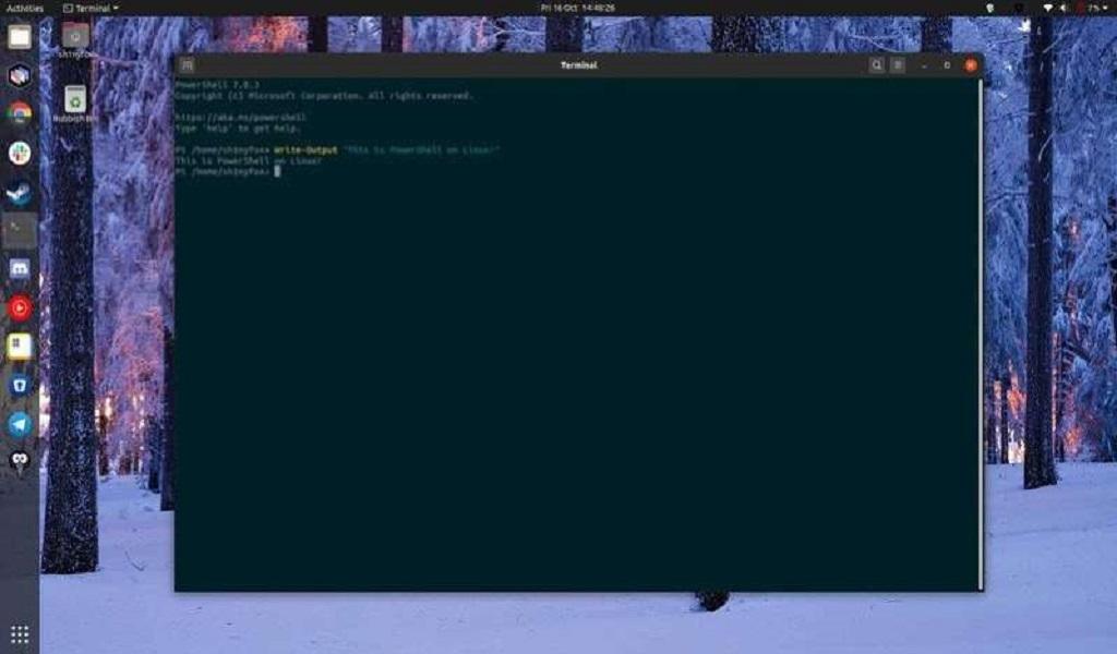 Microsoft-PowerShell