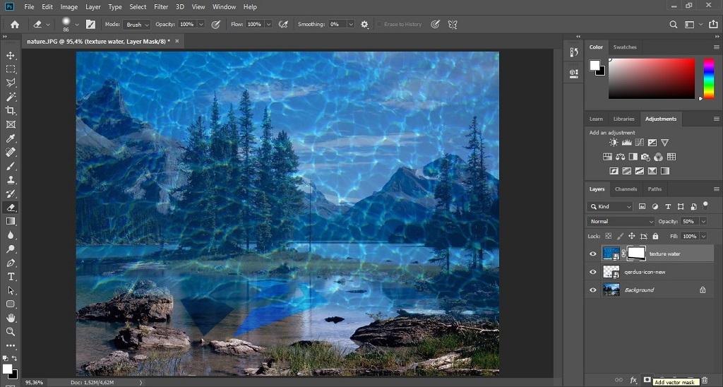 menggabungkan gambar dengan adobe photoshop