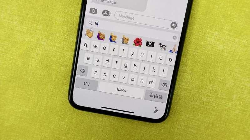 Mencari keyboard emoji