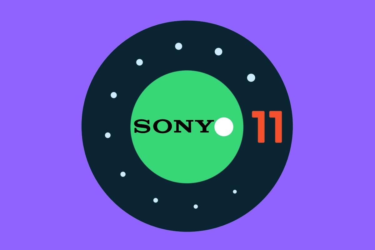 Android 11 pertama Sony