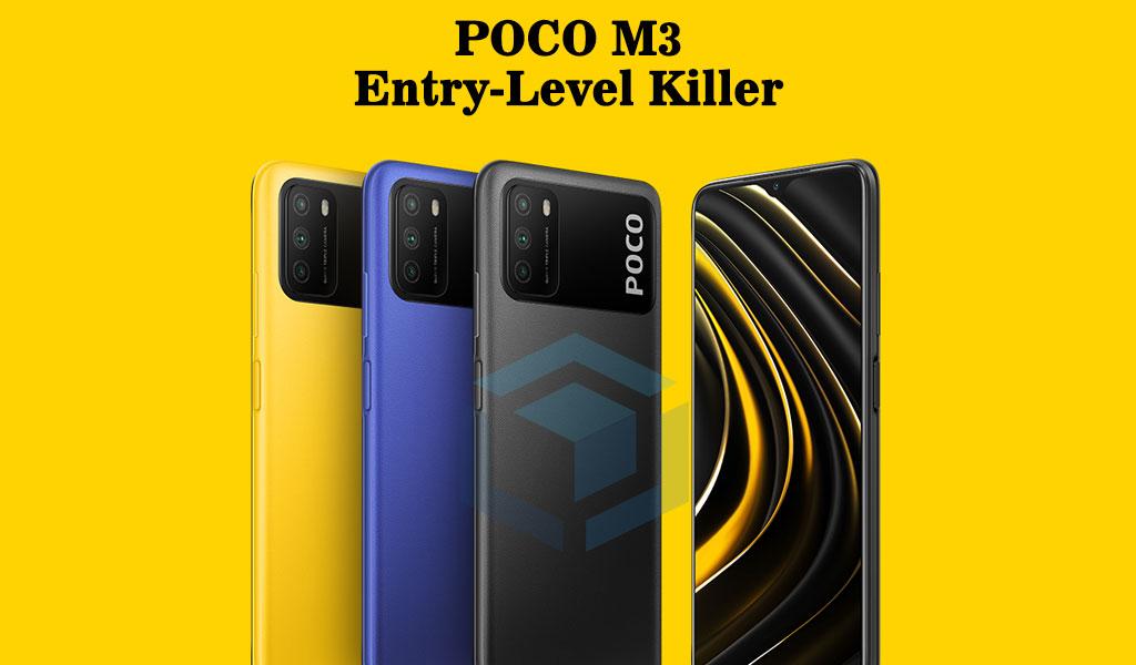 Poco M3 4/64 - HP China murah terbaik