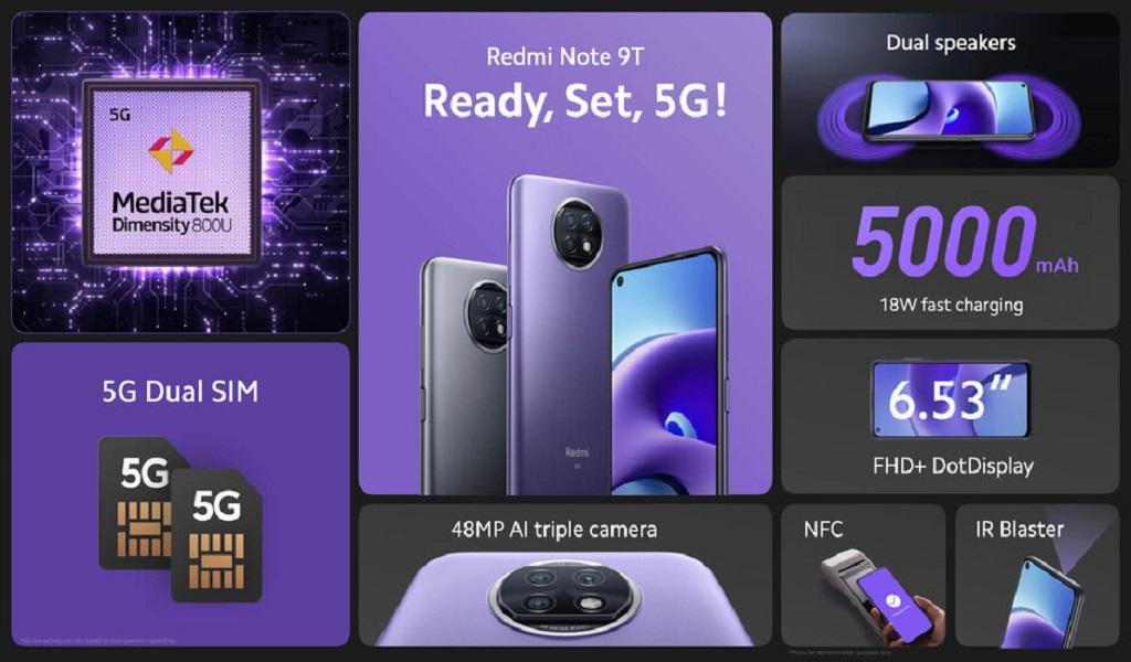 Redmi 9T dan Redmi Note 9T