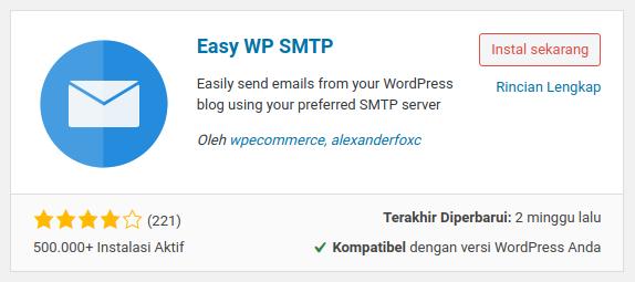 email WordPress masuk spam