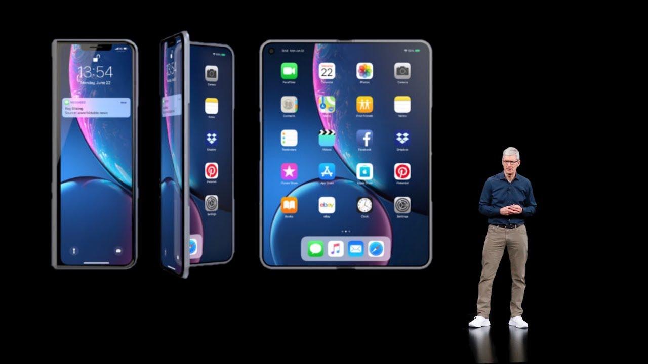 Apple sedang membuat prototipe layar iPhone yang dapat dilipat