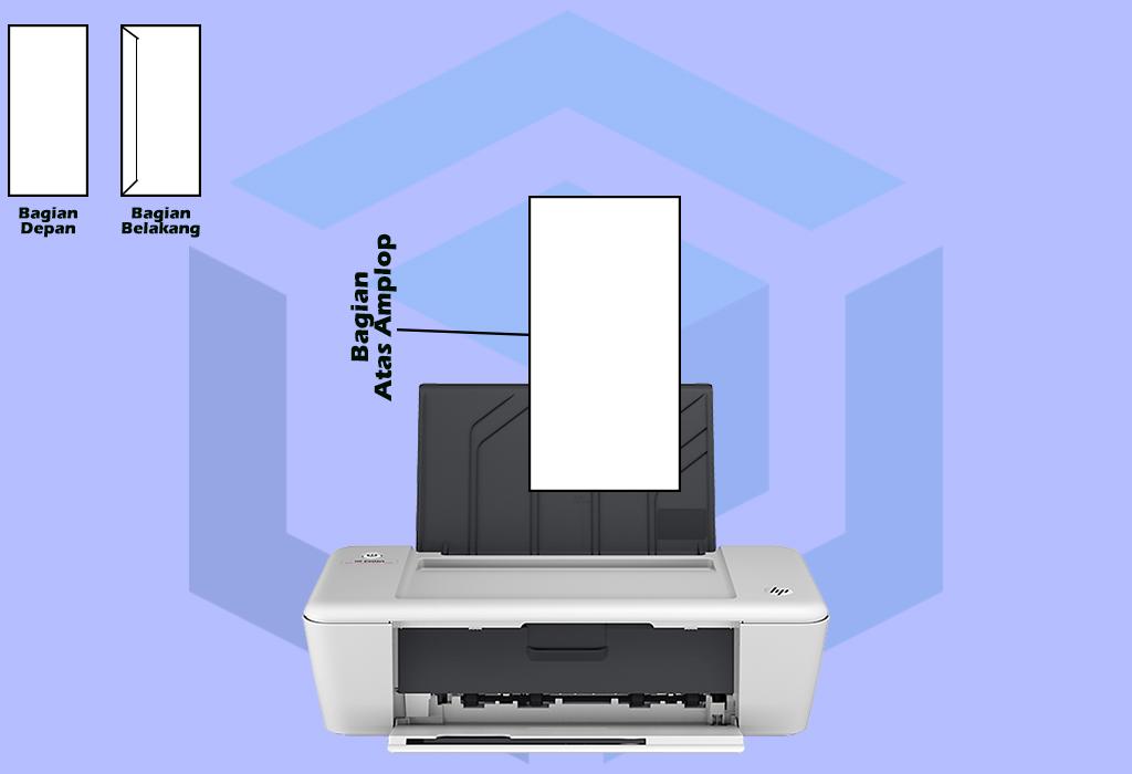 mencetak amplop