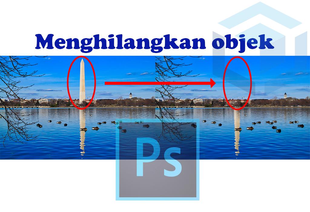 menghilangkan-objek-di-photoshop-dengan-content-aware-fill