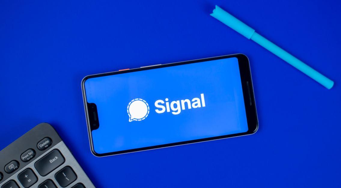 Update aplikasi Signal terbaru