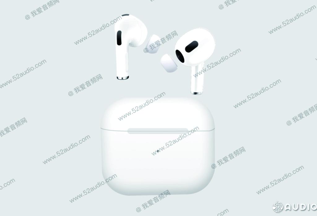 render Apple AirPods dan AirPods Pro 2021