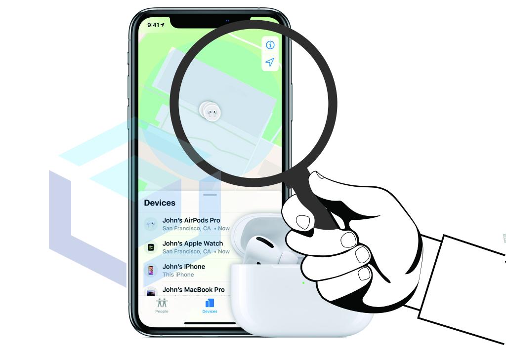 Find My AirPods, Apakah seperti fitur pada produk Apple lain?