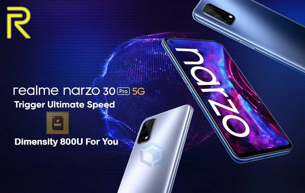 India kedatangan Realme Narzo 30 Pro dengan Dimensity 800U