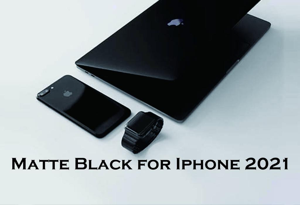 rumor prnggunaan material Mate Black pada iphone