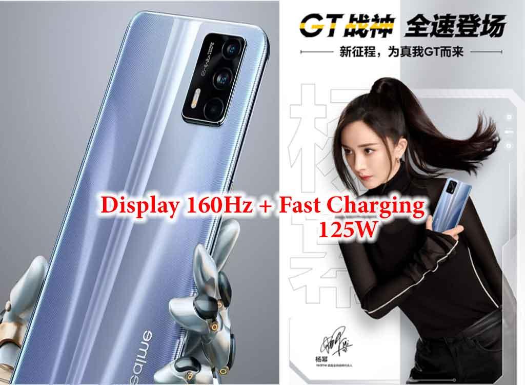 Realme GT 5G dirumorkan dengan layar 160Hz dan fast charging 125W