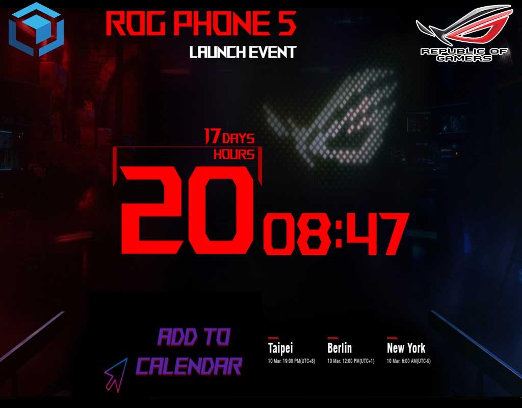 Tanggal rilis dan rumor spesifikasi Rog Phone 5