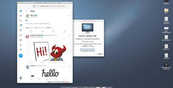 helloSystem distro Linux FreeBSD yang mirip seperti Mac OS X