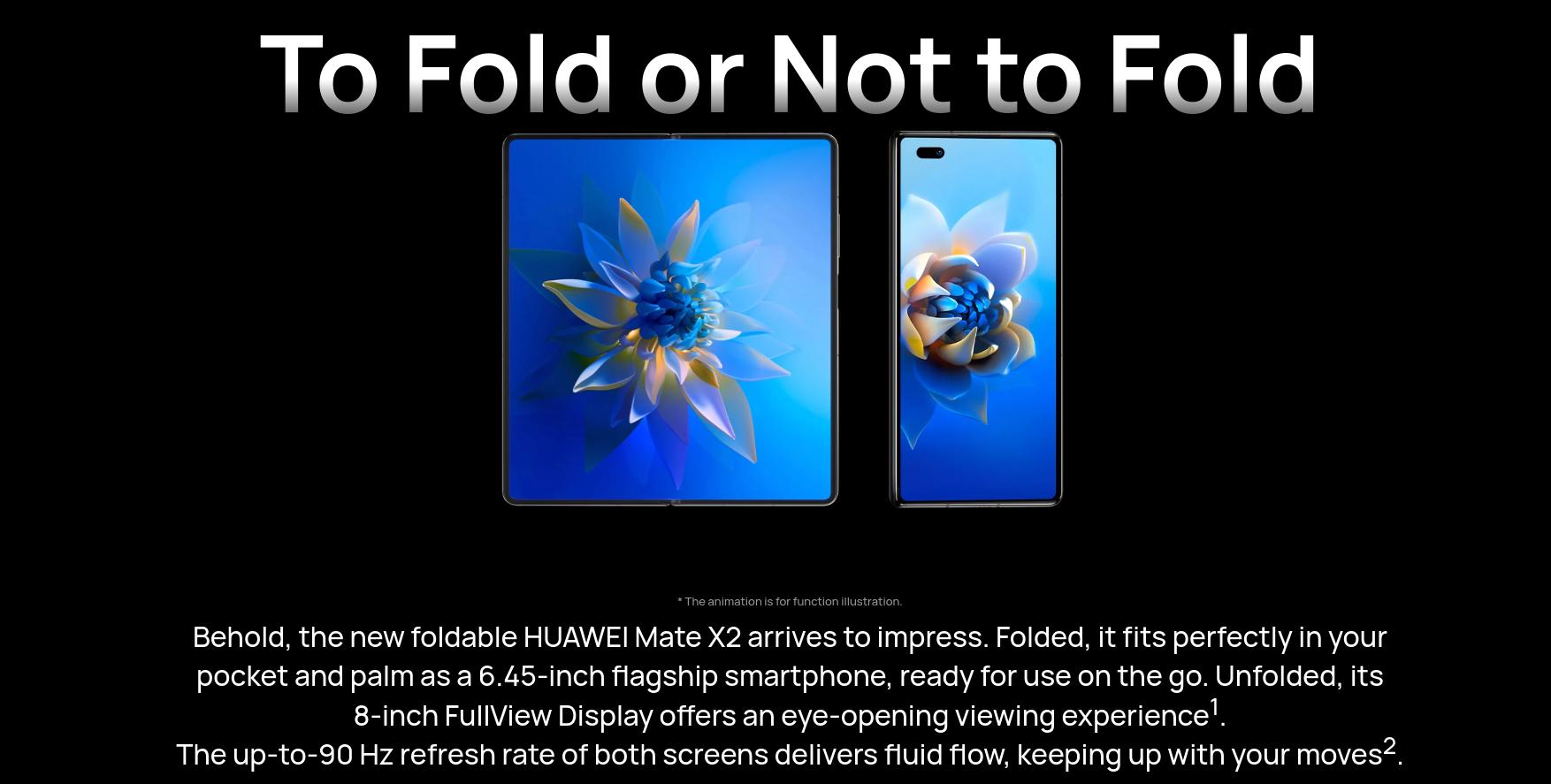 Huawei Mate X2 lipat