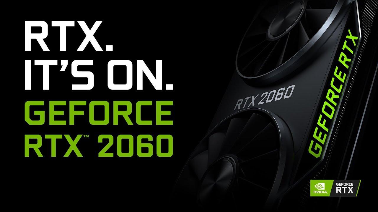 Nvidia GPU RTX 2060