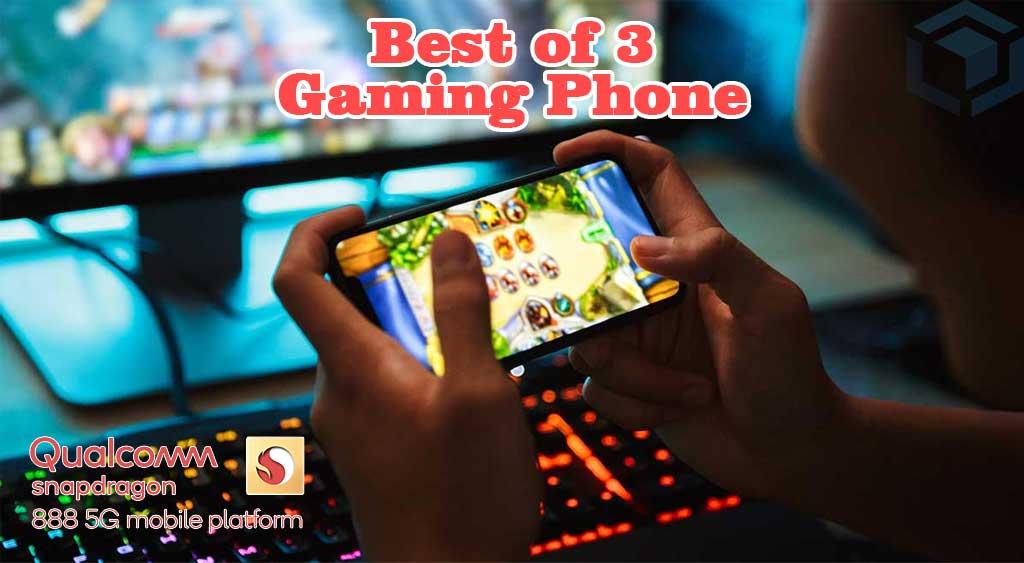 3 HP gaming terbaik chipset Snapdragon 888 tahun 2021