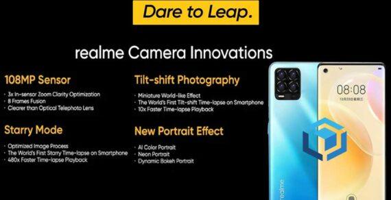 Kabar terbaru Realme 8 Pro dengan kamera 108MP pertama