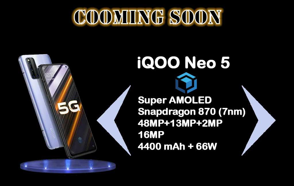 Siap rilis, spesifikasi Vivo iQOO Neo 5 andalkan Snapdragon 870