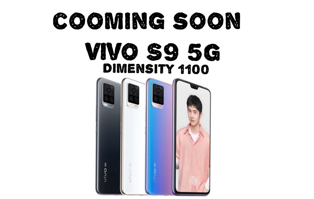 Tak mau kalah, Vivo S9 5G andalkan MediaTex Dimensity 1100